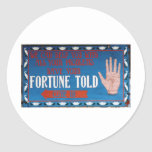 Fortunes Told Stickers