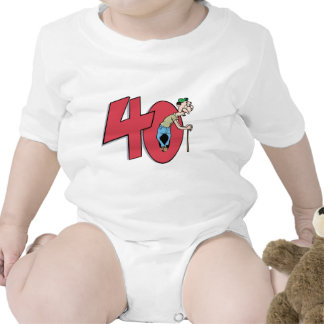 Forty - 40 year old Birthday Greeting Shirts