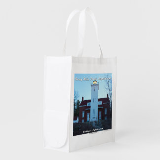 Forty Mile Point Lighthouse Reusable Utility Bag