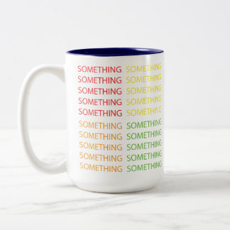 Forty Something Two-Tone Coffee Mug