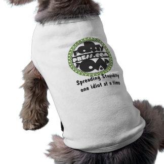 Forty Toad Press Logo Sleeveless Dog Shirt