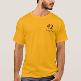 Forty Two Merchandise T-Shirt