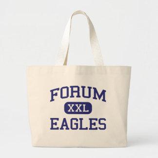 Forum - Eagles - The - Blue Island Illinois Canvas Bag