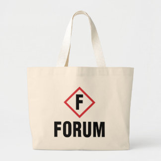forum large tote bag