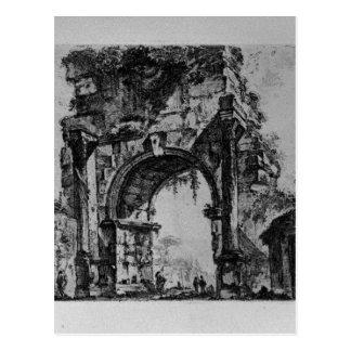 Forum of Augustus by Giovanni Battista Piranesi Postcard