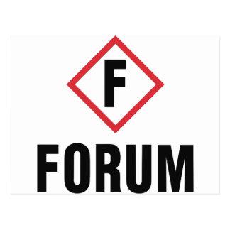 forum postcard