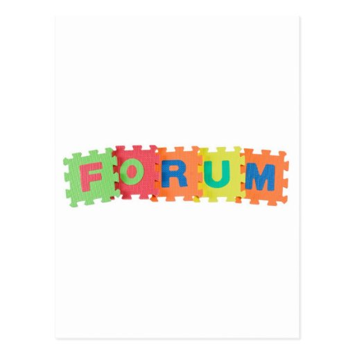 Forum Post Cards