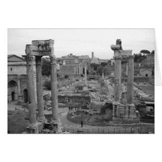 Forum Romanum Greeting Card