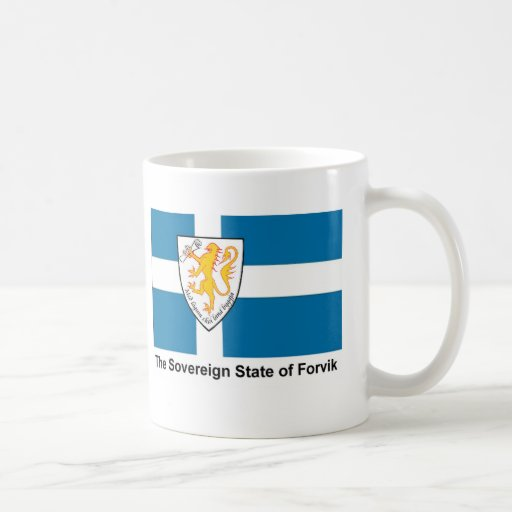 Forvik Flag Coffee Mugs