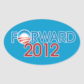 Forward 2012 oval sticker