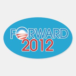 Forward 2012 oval sticker