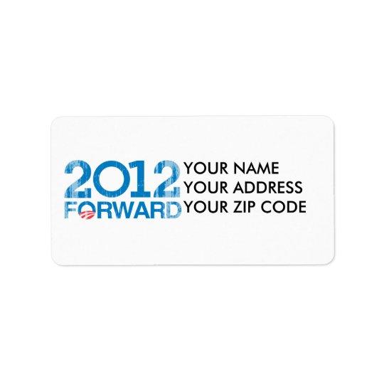 Forward 2012 Vintage Address Label