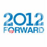 Forward 2012 Vintage Photo Cutout