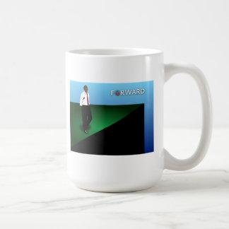 Forward Basic White Mug