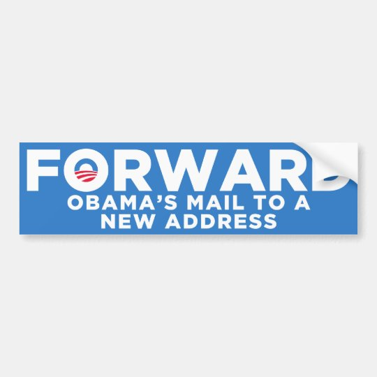 FORWARD Obama Bumper Sticker