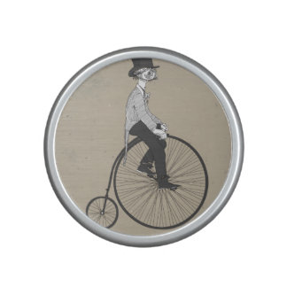 Forward With Confidence Vintage Bicycle Bluetooth Speaker