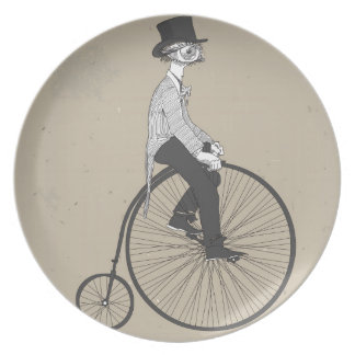 Forward With Confidence Vintage Bicycle Plate