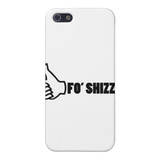 Fo'Shizzle Thomb Up iPhone 5 Cases