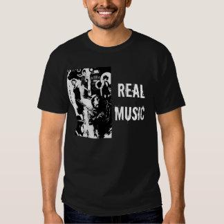 FOSHO REAL MUSIC T-SHIRT
