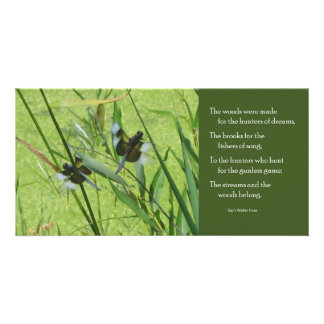Foss Butterfly Quote Notecard Photo Card