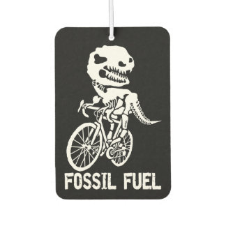 Fossil fuel car air freshener