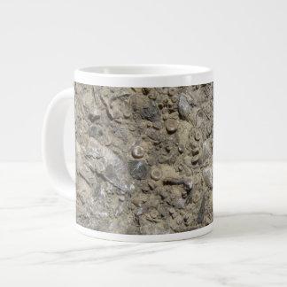 Fossil Hash Print Large Coffee Mug