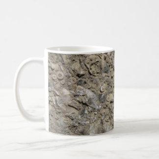 Fossil Hash Print (Version 1) Basic White Mug