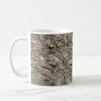 Fossil Hash Print (Version 1) Classic White Coffee Mug