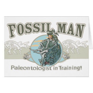 Fossil Man by Mudge Studios Card