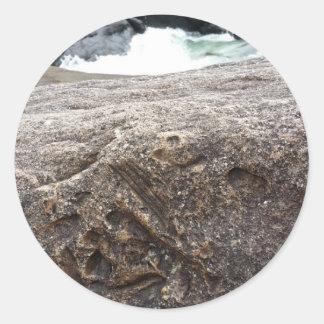 Fossil Rock Round Sticker