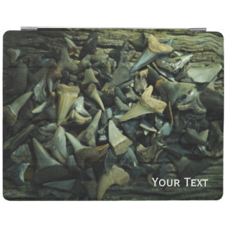 Fossil Shark Tooth Collection iPad Cover