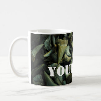 Fossil Shark Tooth Collection Classic White Coffee Mug