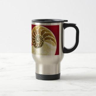 Fossil Shell Design Mugs