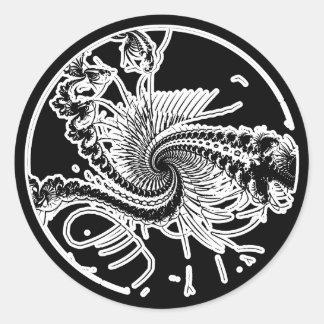 Fossil ver. 3 round sticker