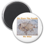 Fossil Win 6 Cm Round Magnet
