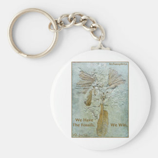 Fossil Win Archaeopteryx Key Ring