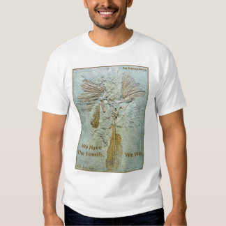 Fossil Win Archaeopteryx T-shirts