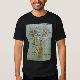 Fossil Win Archaeopteryx Tee Shirts