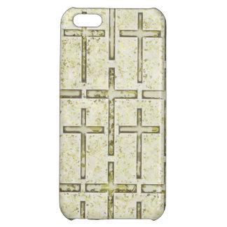 FOSSILIZED CROSSES LIGHT iPhone 5C CASES