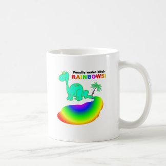 Fossils make slick RAINBOWS Mugs