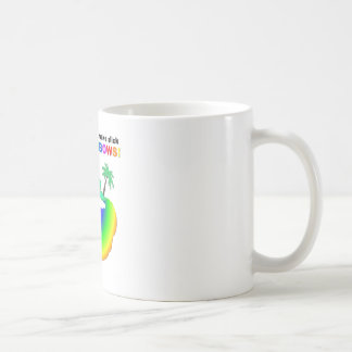 Fossils make slick rainbows coffee mugs