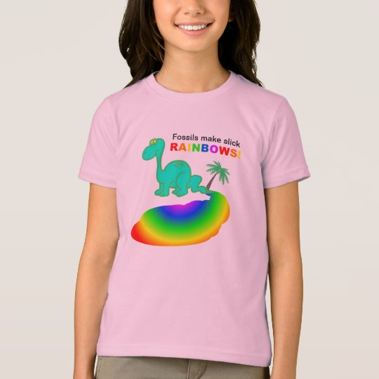 Fossils make slick RAINBOWS T-Shirt