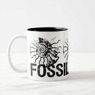 FOSSILS ROCK Ammonite Two-Tone Mug