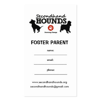 Foster Cards! Business Card Templates