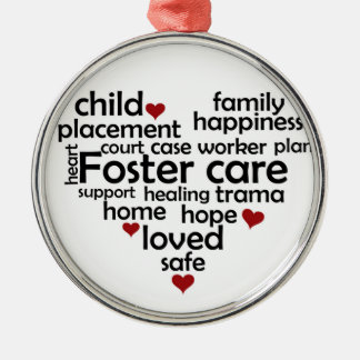 Foster Care Christmas Ornament