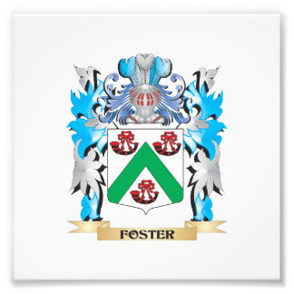 Foster Coat of Arms - Family Crest Art Photo