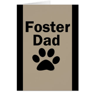 Foster Dad Card