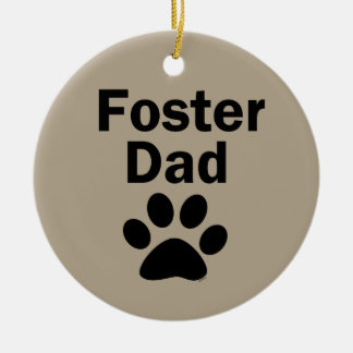 Foster Dad Christmas Ornament