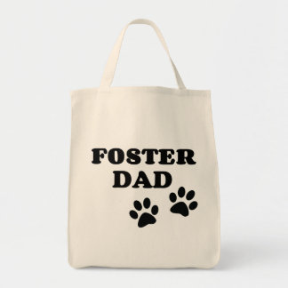 Foster Dad Grocery/Tote Bag