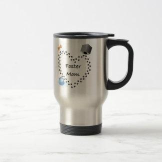 Foster (Dog) Mom Stainless Steel Travel Mug